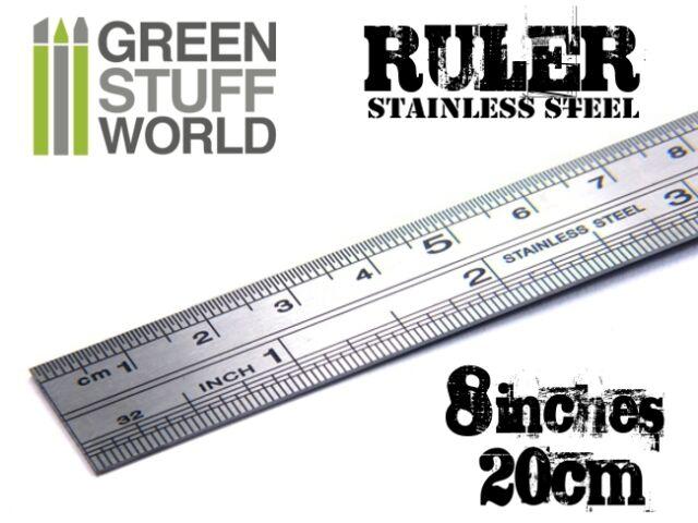 Hobby Flexible RULER stainless steel - Model Modeler Tool Scale Modeling Craft