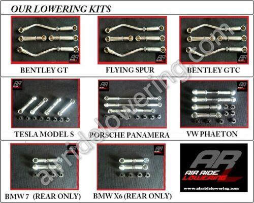 AUDI A6 S6 2012-2014 AIR Suspension Lowering Links Full Kit