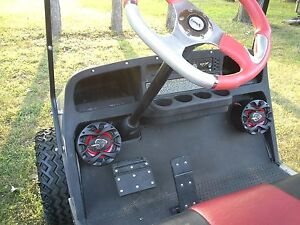 New Speakers Pods Golf Cart Ez Go Club Car Yamaha Utv Jeep Radio