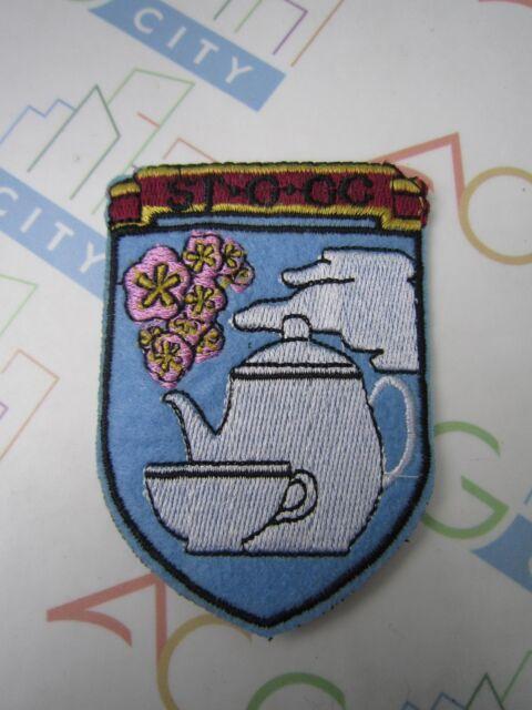 Girls und Panzer Darjeeling Assam St. Gloriana Girls Academy Cosplay Patch Badge