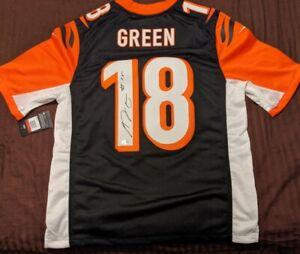 Details about A.J. Green Autographed Cincinnati Bengals Authentic Nike Jersey Beckett COA
