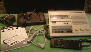 Philips LFH 510 Mini Cassette Transcriber Transcription Dictation Machine 500