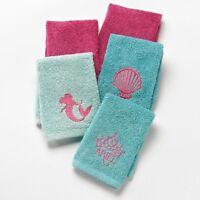 Disney Little Mermaid Ariel Washcloth Set, New, Free Shipping