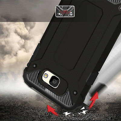 separation shoes b48b0 467be For Samsung Galaxy A5 A3 A7 2017 Case Hybrid Shockproof Armor Hard Cover |  eBay