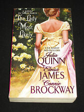 msm* JULIA QUINN / ELOISA JAMES / CONNIE BROCKWAY ~ THE LADY MOST LIKELY...