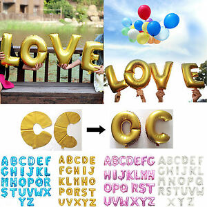 image is loading birthday wedding party foil air fill only alphabet