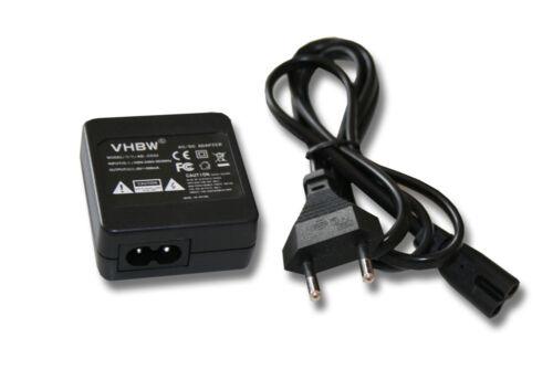 Adaptador de CA de alimentación cargador para Casio Exilim ex-z1050//ex-z1080//ex-z2000