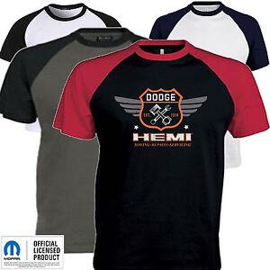 5f5011894 Dodge T Shirt Hemi Vintage Mopar Chrysler American Classic Muscle ...