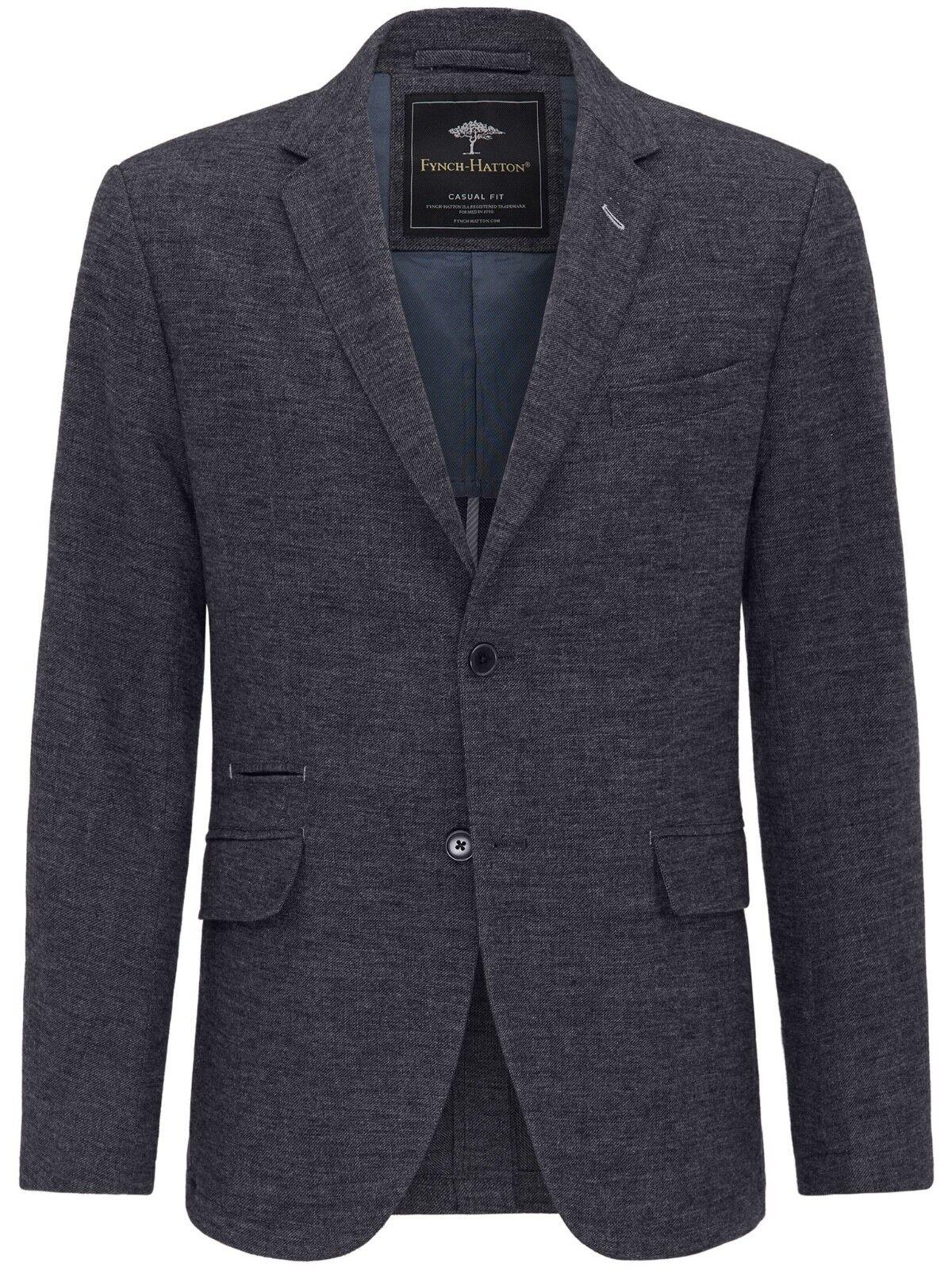 FYNCH HATTON® StructuROT Jersey Blazer/Night - U42/EU52