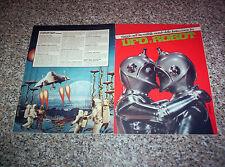 ALBUM UFO E ROBOT ED.SOLARIS 197? Q.COMPLETO (-30 FIGURINE) BELLO NO PANINI EDIS
