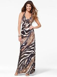 Sexy Animal Print Maxi Dress