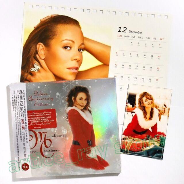 Mariah Carey Merry Christmas Taiwan 2 CD OBI Sticker All I Want Xmas 2019 NEW | eBay