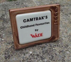 Superb-WADE-porcelain-CAMTRAKS-CHILDHOOD-FAVOURITES-DISPLAY-PLAQUE-c1997-TYPE-2