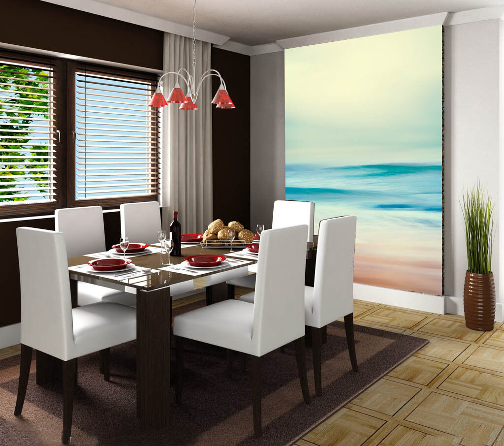 3D Misty Sea Scenery 38 Wall Paper Wall Print Decal Wall Deco Wall Indoor Murals