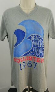 Hollister-big-wave-finals-Zuma-size-medium-Grey-t-shirt-569