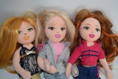 """2019 Ultimo Disegno Set Di 3 Bambole Ty Girlz 13"""" Fashion Doll Abiti In-mostra Il Titolo Originale"""