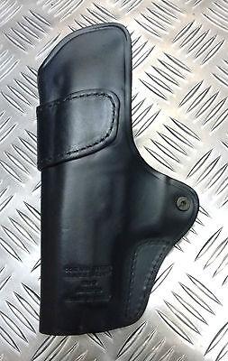 Police Leather CQC Gun Holster Blackhawk Sig 220//6 Genuine British Military