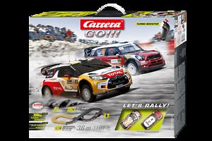 Pista let's rally 1 43 track circuit racebahn slotcar auto carrera go 20062433