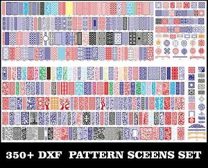 350-Pcs-Screens-Set-CNC-DXF-Art-Files-Corel-Waterjet-Laser-Plasma-Ready-To-Cut
