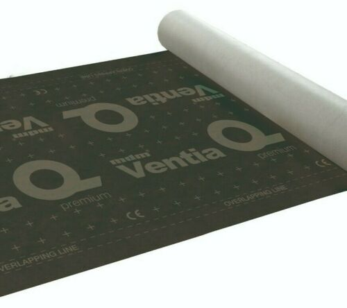 Ventia Q Premium Unterspannbahn 230g//m2 Unterdeckbahn Dachfolie Schalungsbahn