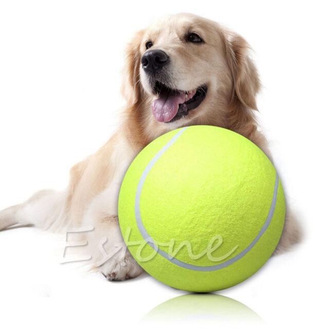 Giant Ball 24 Cm Pet Toy Mega Big Tennis Balls Dog Cat Chew Outdoor