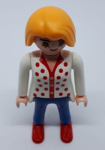 545260 Mujer rubia playmobil figura,figure