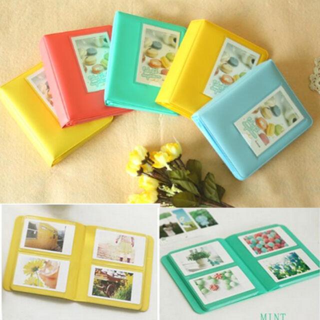 Polaroid Storage Photo Album For FujiFilm Mini 7s 8 25 50s 90 Instant 64 Films