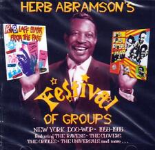 HERB ABRAMSONS - FESTIVAL OF GROUPS - NEW YORK DOO-WOP 1958-66 (NEW SEALED CD)