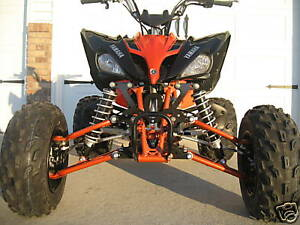 Yamaha Raptor 250 A Arms Shocks Atv Widening Kit 6 Ebay