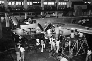 WWII-Photo-USAAF-B-25-Bomber-75mm-Cannon-Nose-CBI-WW2-World-War-Two-5049