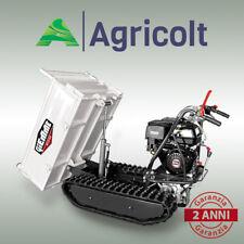 Motocarriola 500 Kg ribaltamento manuale, minitransporter 8 hp GIEMME MT 500 C