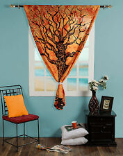 Indian Tree of Life Door Window Curtain Hanging Tapestry Boho Hippie Valances