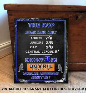 SHEFFIELD-WEDNESDAY-FANS-FOOTBALL-Retro-Vintage-Metal-Wall-Sign