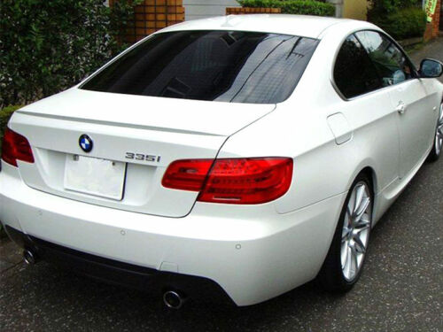 * Custom Painted M3 Type Aero Trunk Spoiler Wing ABS For BMW E92 325i 328i 335i