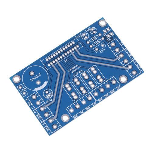 Power amplifiers TDA7388 four channel 4x41W audio DC 12V BTL PC car AMP PCAB