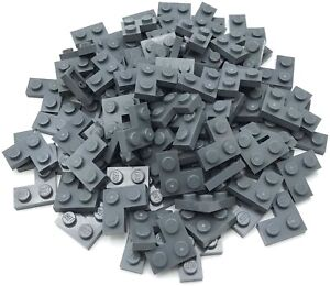 Lego 100 New Dark Bluish Grey 2 x 2 Corner Plates Pieces Parts