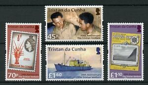 Tristan-da-Cunha-2018-MNH-Tristan-Venture-70th-Anniv-4v-Set-Boats-Ships-Stamps
