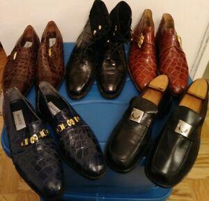 pr. Mauri Alligator Men shoes sz 8
