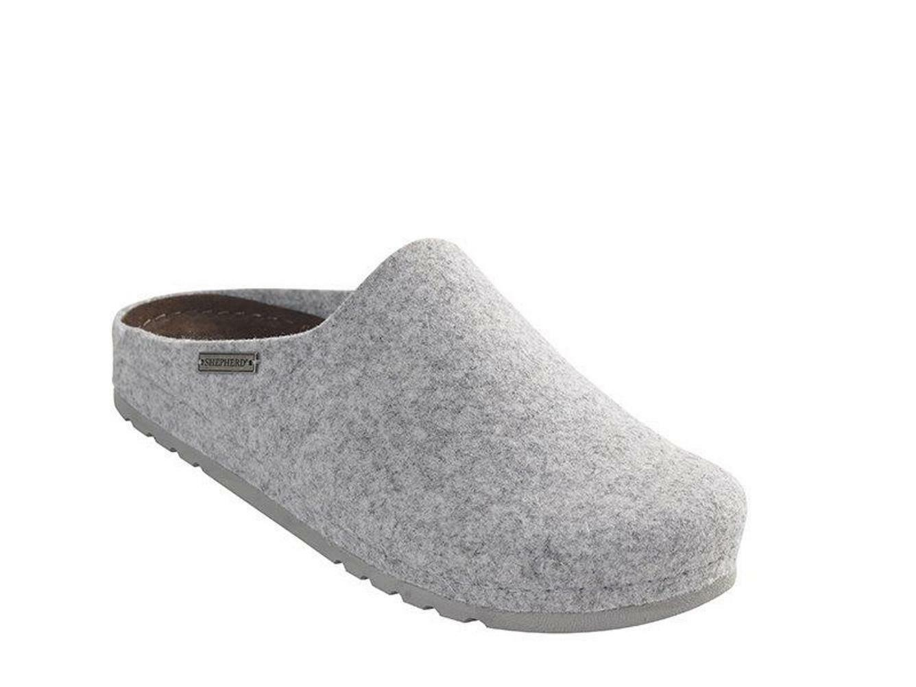 Shepherd Isabell 37 5032 House shoes Slippers Insole Grey Size 38 - 41 NEW