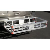 500 Lb. Aluminum Cargo Carrier Hitch Receiver Mount Luggage Large Loads