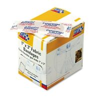 FIRST AID ONLY INC. G122 Fabric Bandages 1 X 3 100 box Health Aids on Sale