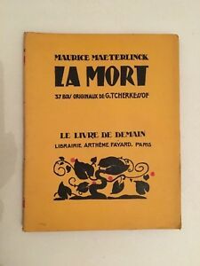 Maurice Maleterlinck La Muerto B . Artheme Fayard & Cie Editores