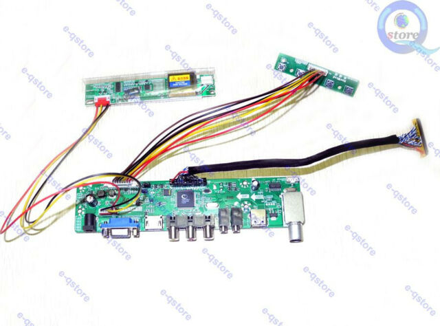 (HDMI+AV+VGA)LCD Lvds Controller Board Inverter Kit for LQ150X1LBS2 1024X768