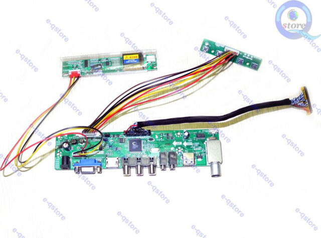 (HDMI+AV+VGA)LCD Lvds Controller Board Inverter Kit for LQ150X1LBS2 1024X768