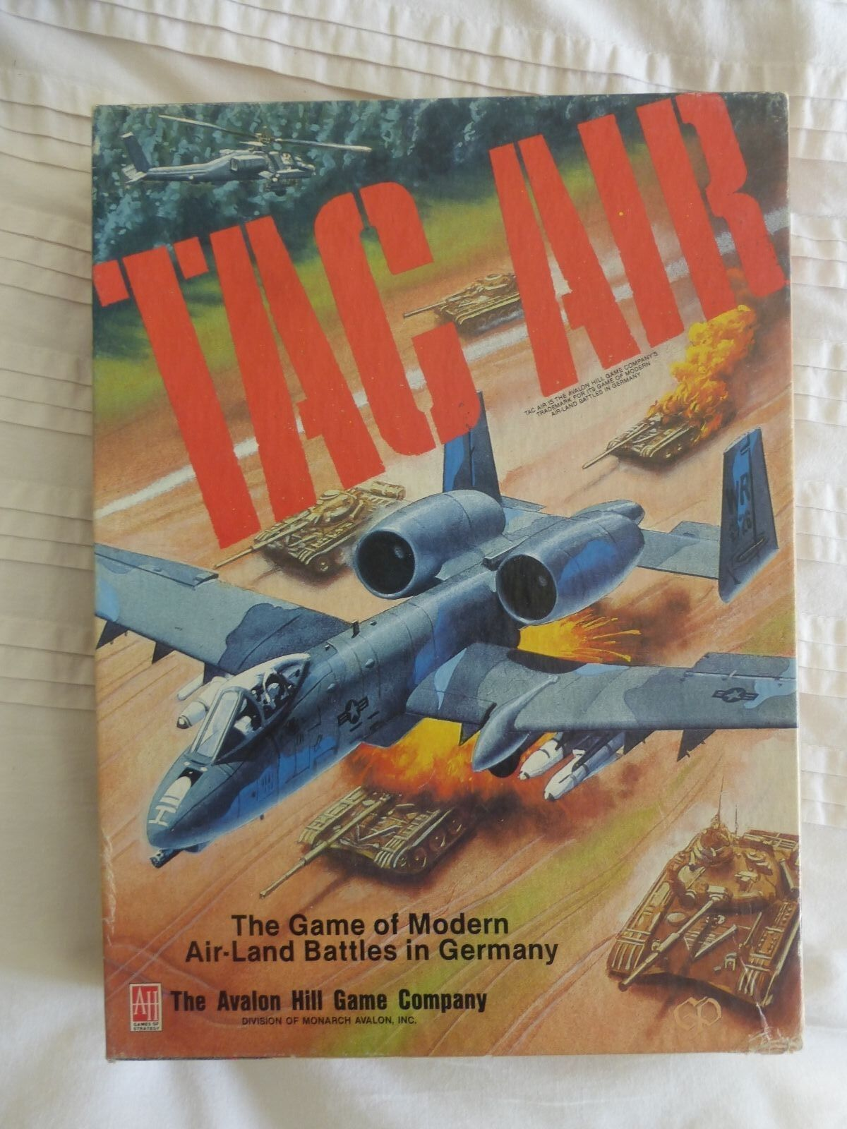 Tac Air COMPLETE  by Avalon Hill Board War-game
