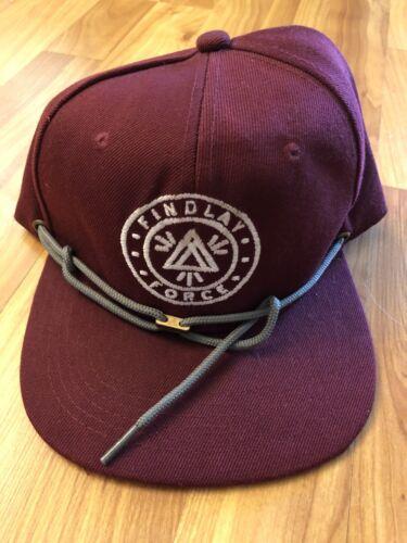 Findlay Force Hat Snapback Adjustable Red