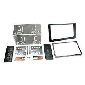 SAAB-9-3-2006-Car-CD-Stereo-Double-Din-Fascia-Panel-Cage-Kit-DFPK-32-03