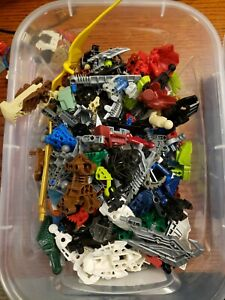 LEGO-BIONICLE-Hero-Factory-Lot-1-Pound-assorted-parts-amp-Pieces