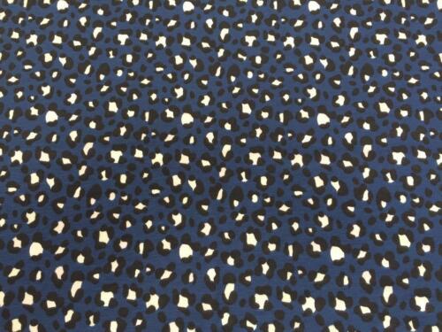 """Leopardo De Algodón Jersey UV Luz Sol reactivo de tela de cambio de color 58/"""" MT955-10"""