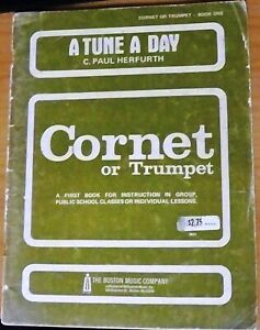 A-Tune-A-Day-Cornet-or-Trumpet-by-C-Paul-Herfurth-Book-One